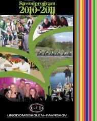 Saesonprogram - Favrskov Ungdomsskole