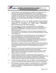 Persönliche Schutzausrüstung - CEMEX Austria AG