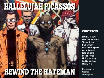 Hallelujah Picassos - Rewind the Hateman book - Amplifier