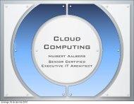 Cloud Computing - huibert-aalbers.com