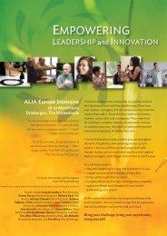 ALIA Europe Intensive - ALIA Institute