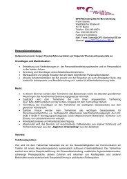 Lehrinhalte - QPS-Marketing-BB