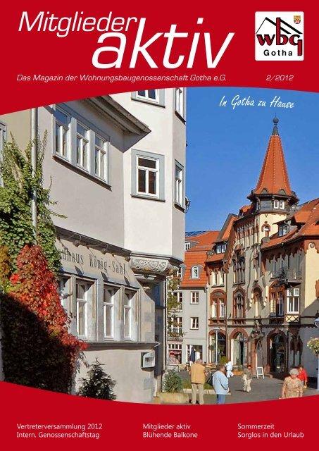 Mehr Freude am Wohnen - Wohnungsbaugenossenschaft Gotha eG