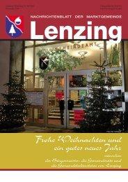 Gemeindezeitung Dezember 2005 - Lenzing