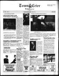 3/$l - Wilmington Town Crier - Wilmington Memorial Library