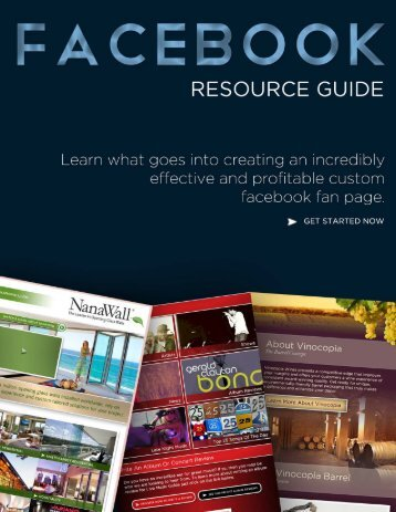 FaceBook Resource Guide - Social Media Marketing For Business