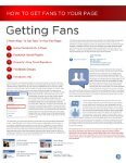 FaceBook Resource Guide - Social Media Marketing For Business - Page 7