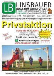 Super Aktion - Linsbauer Holz