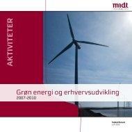 Grøn energi og erhvervsudvikling - Region Midtjylland