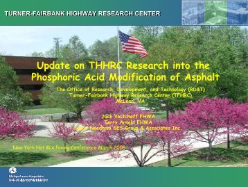 TURNER-FAIRBANK HIGHWAY RESEARCH CENTER