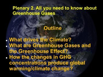 Greenhouse Gases - MySpot, UWI