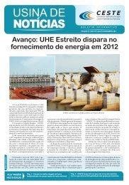 Jornal Usina de Notícias.indd - Consórcio Estreito Energia
