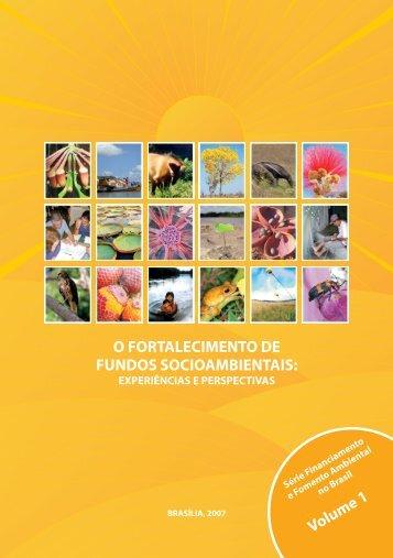 o fortalecimento de fundos socioambientais - Ministério do Meio ...