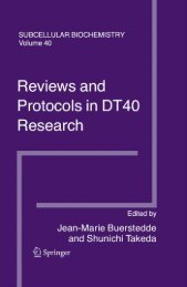 Reviews and Protocols in DT40 Research: Subcellular Biochemistry