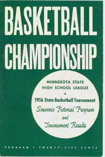 State Basketball Tournament Program