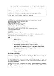 ATA da 19a Reunião - Ministério do Meio Ambiente