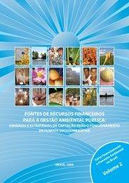 fontes de recursos financeiros para a gestão ambiental pública