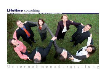 Das Lifetime consulting Team Norbert Paul Ulbing - Ulbing consulting