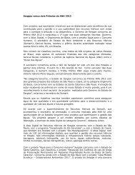 Sergipe vence dois Prêmios da ANA 2012 Com projetos ... - Abema