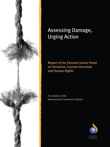 Assessing Damage, Urging Action - Eminent Jurists Panel ...