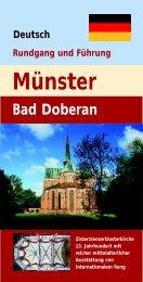 Deutsch Rundgang und Führung Münster Bad Doberan - Doberaner ...