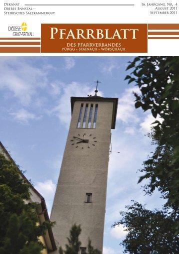 Pfarrblatt August-September 2011 - Katholische Kirche Steiermark