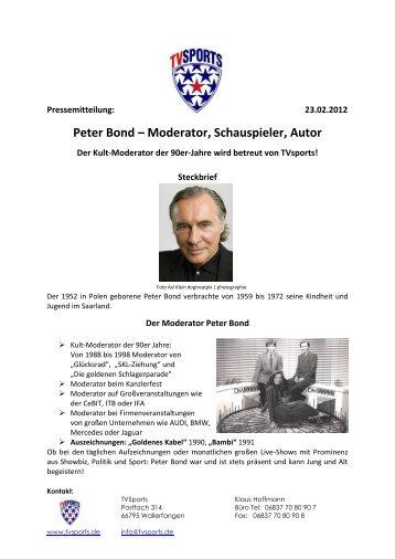 Vita Pius Schmitt Schauspieler Moderator Model