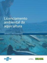 Cartilha Licenciamento Ambiental da Aquicultura - Blog Projeto Pacu