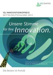 IQ 2011 - Wirtschaftsinitiative für Mitteldeutschland
