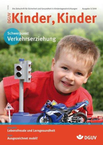 Lerngesundheit - DGUV Kinder, Kinder