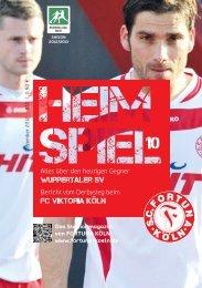 Wuppertaler SV fc viktoria köln - SC Fortuna Köln