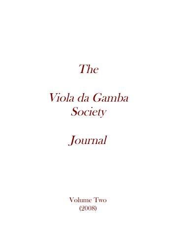 download PDF - The Viola da Gamba Society