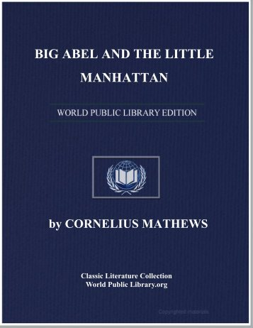 BIG ABEL AND THE LITTLE MANHATTAN - World eBook Library