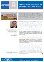 Flexibles Vertriebscontrolling und Reporting – ganz ... - STAS GmbH