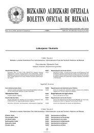 bizkaiko aldizkari ofiziala boletin oficial de bizkaia - SiiS Centro de ...
