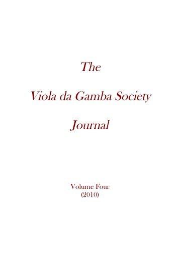 Partiturbuch Ludwig - The Viola da Gamba Society