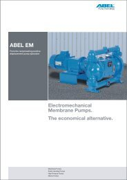 ABEL EM - Performance ranges up to 120 m³ - ABEL GmbH & Co. Kg