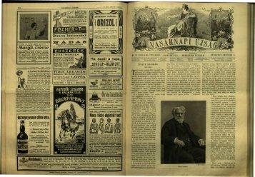 Vasárnapi Ujság 56. évf. 40. sz. (1909. október 3.) - EPA