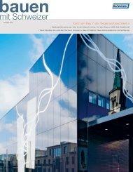 1/2009 deutsch (pdf, 3100 KB) - Schweizer Metallbau