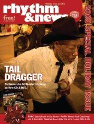 INSIDE: Jazz & Blues Music Reviews • Rockin ... - Delmark Records