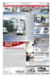 Eigene Entwicklungen und Produkte sind absolut ... - esmatec GmbH