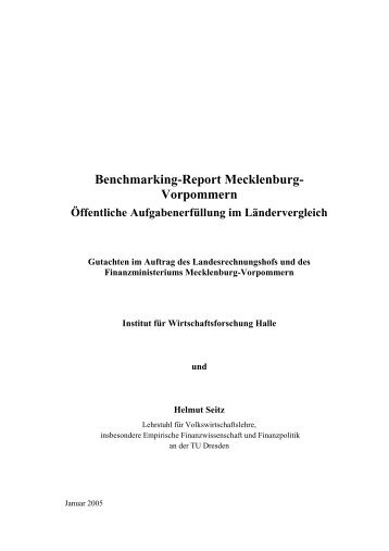 Benchmarking-Report Mecklenburg - Landesrechnungshof ...
