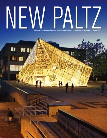Observer, the Alumni Magazine of the State ... - SUNY New Paltz
