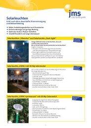 Solarleuchten - jms Solar Handel GmbH