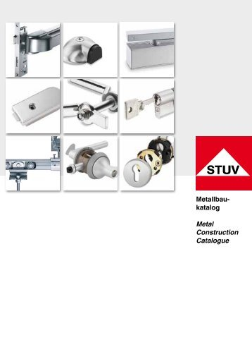 Metallbau- katalog Metal Construction Catalogue - Steinbach ...