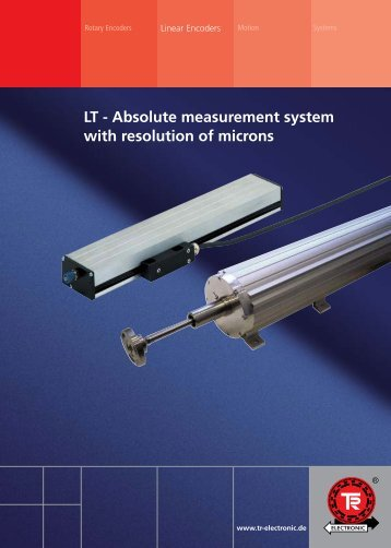 LT - Absolute measurement system with resolution of microns