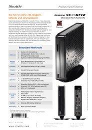 Produkt Spezifikation - Arp