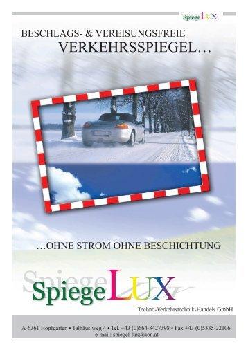 SpiegeLUX - SpiegelLux - ihr verlässlicher Partner in sachen Spiegel