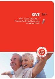 XiVE® TG und CAD/CAM - DENTSPLY Friadent
