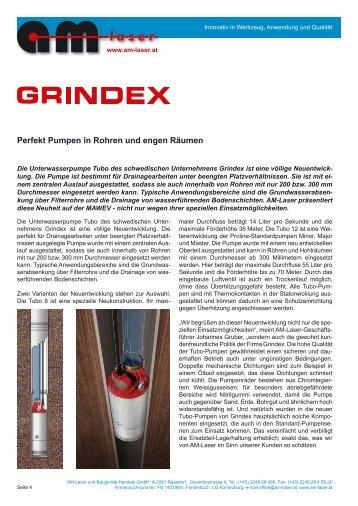 Tubo, Bravo, Inox - AM-Laser und Baugeräte Handels GmbH
